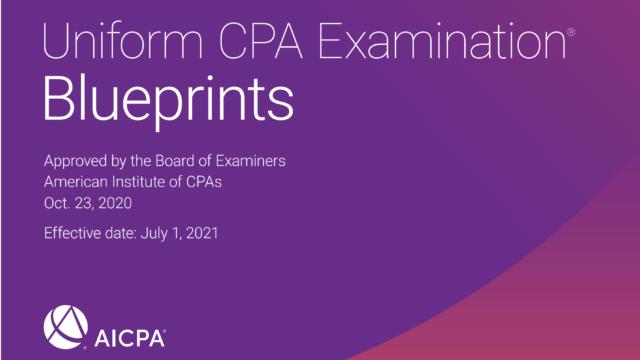 USCPA試験 Blueprintsとは?何が分かるの?どう使うの?